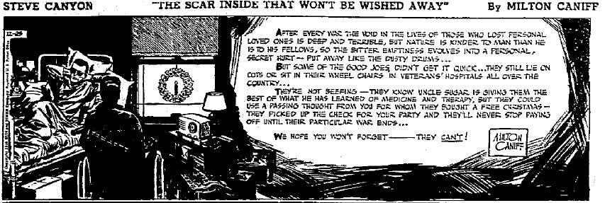 Steve Canyon, Dec. 25, 1948