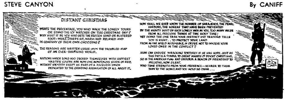 Steve Canyon, Dec. 25, 1959