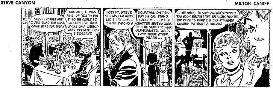 Steve Canyon, Dec. 25, 1961