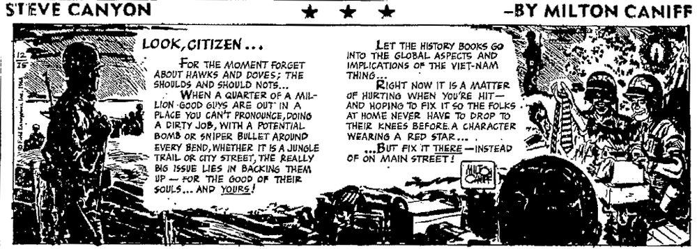 Steve Canyon, Dec. 25, 1968