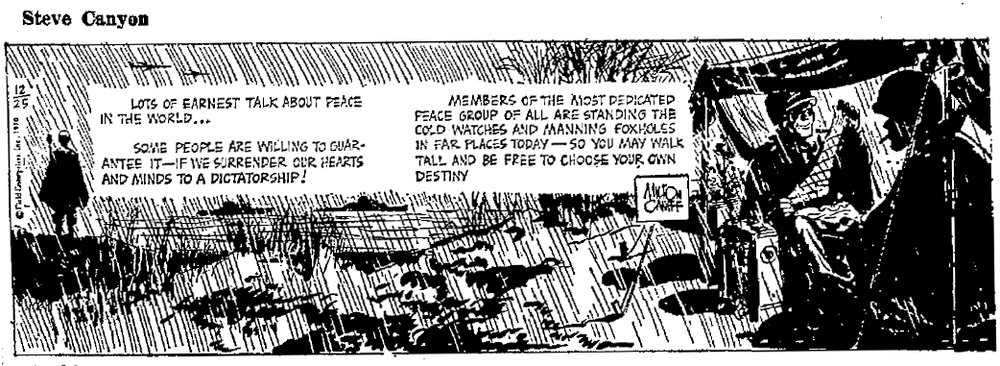 Steve Canyon, Dec. 25, 1970