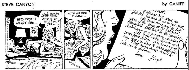 Steve Canyon, Dec. 25, 1965