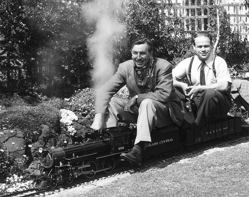 Walt and Ward, all aboard!