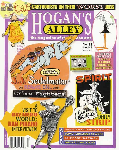 Want to buy the issue of Hogan's Alley where this interview first appeared? (There's tons of other great stuff!) Just click the cover image!