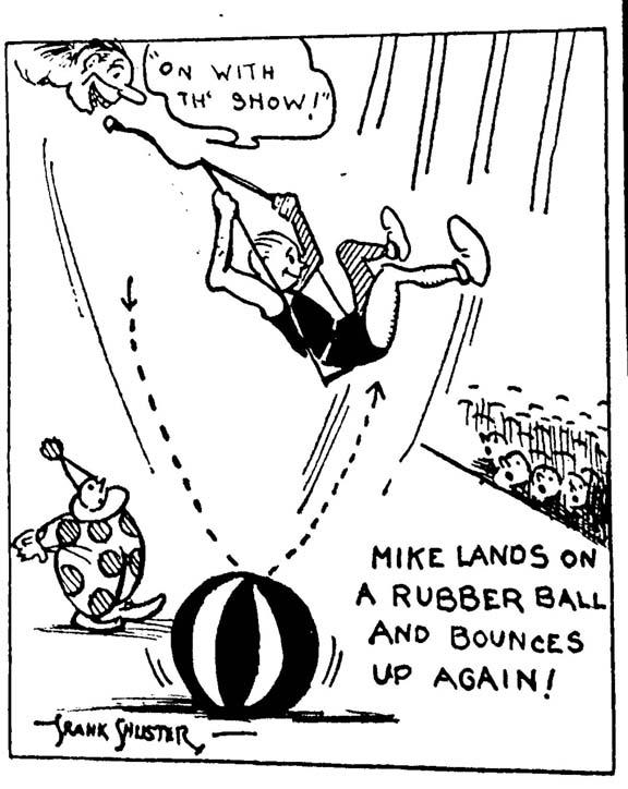 Frank Shuster, Feb. 1932