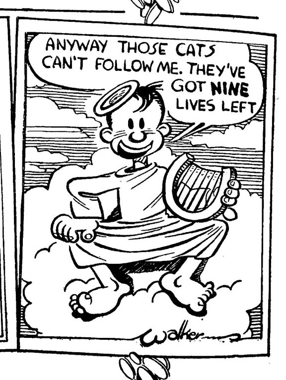 Mort Walker, Jan. 1940