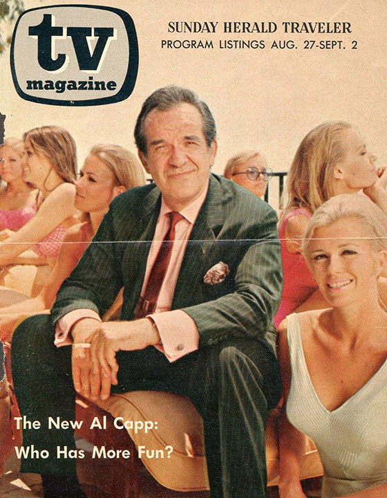 TV magazine cover, fall 1967