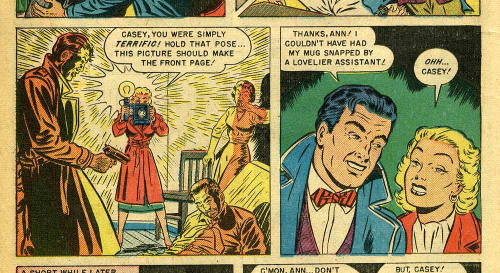 From Casey Crime Photographer #1 (1949)
