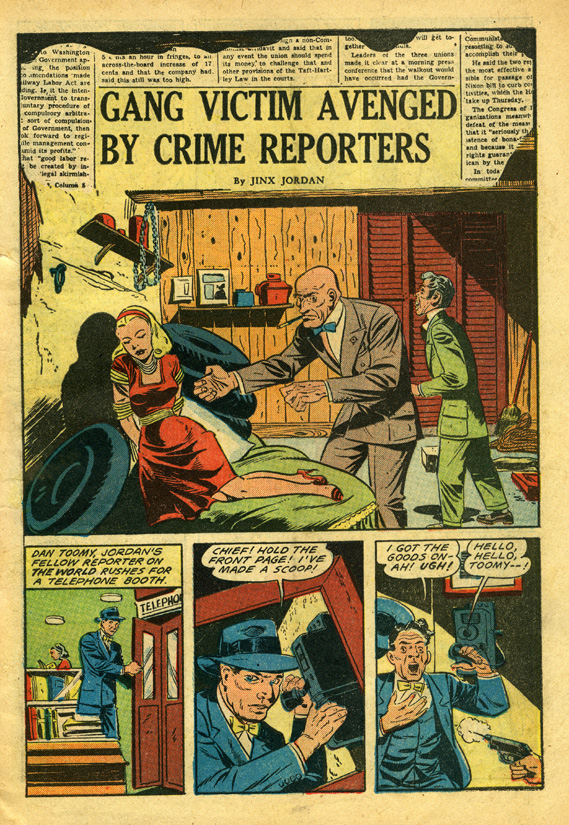 From Crime Reporter #3
