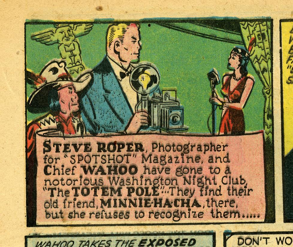 From Steve Roper #1