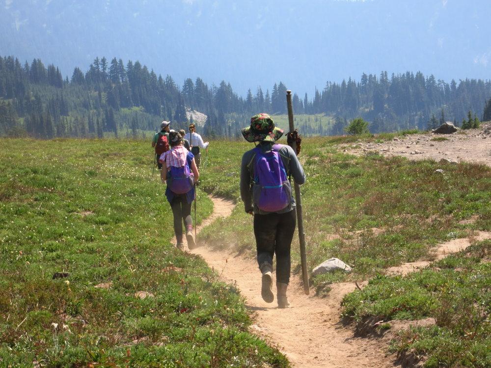 Heading down the trail.JPG