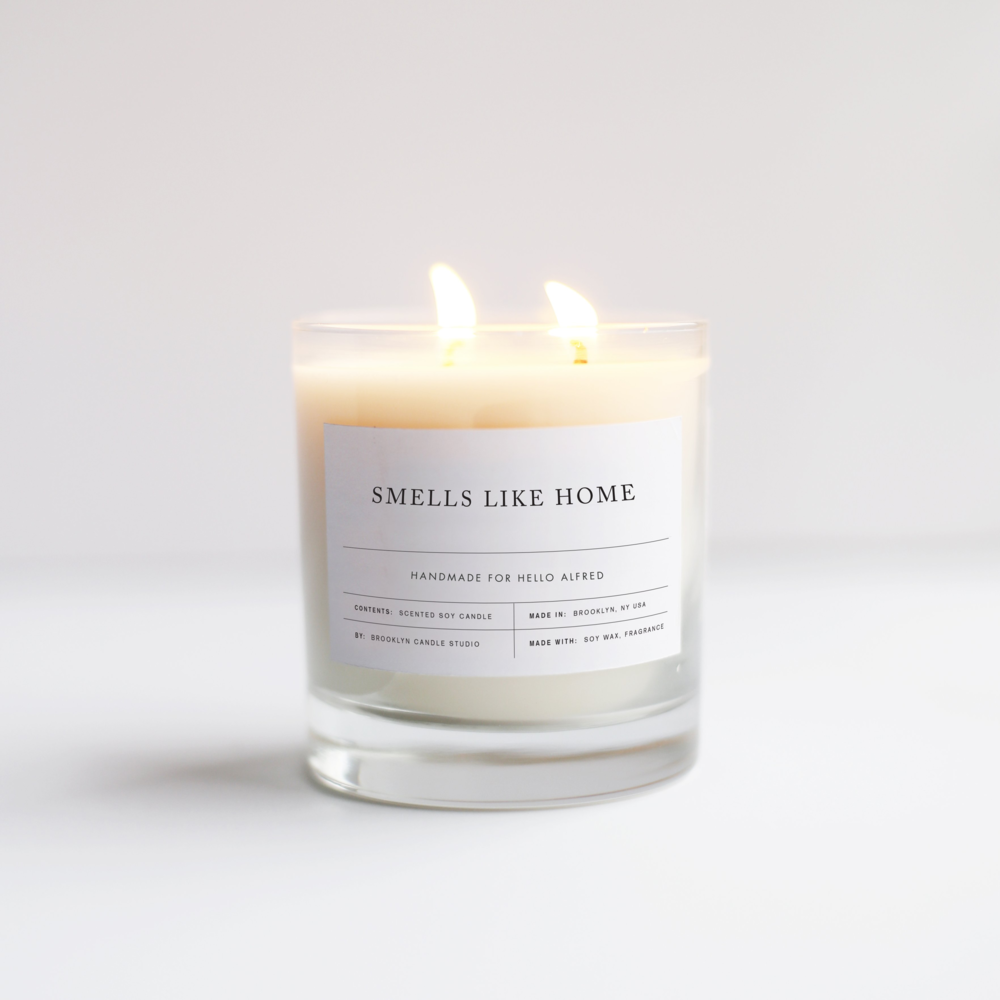 """Smells Like Home"" Candle"