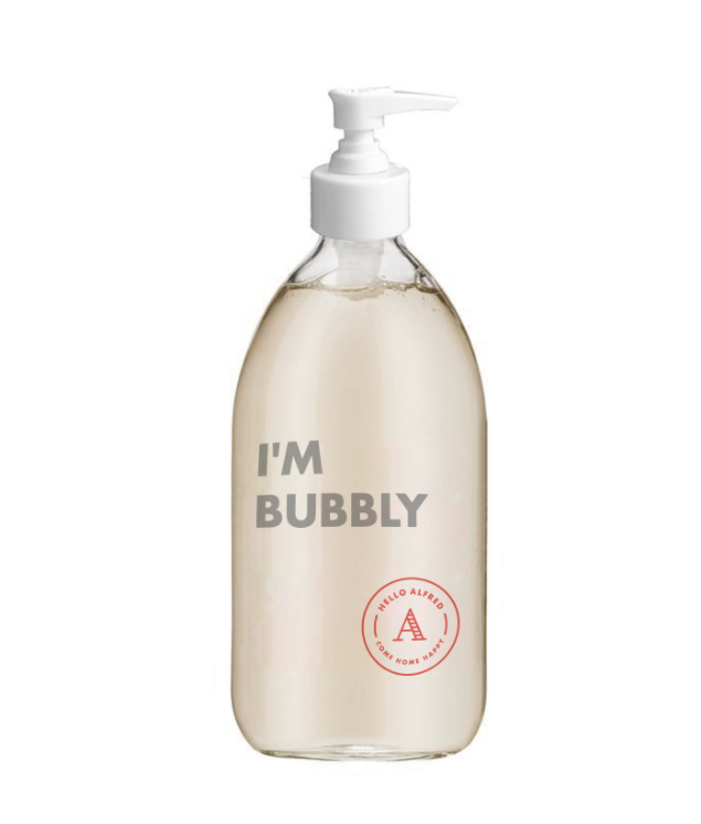 """I'm Bubbly"" Soap Dispenser"