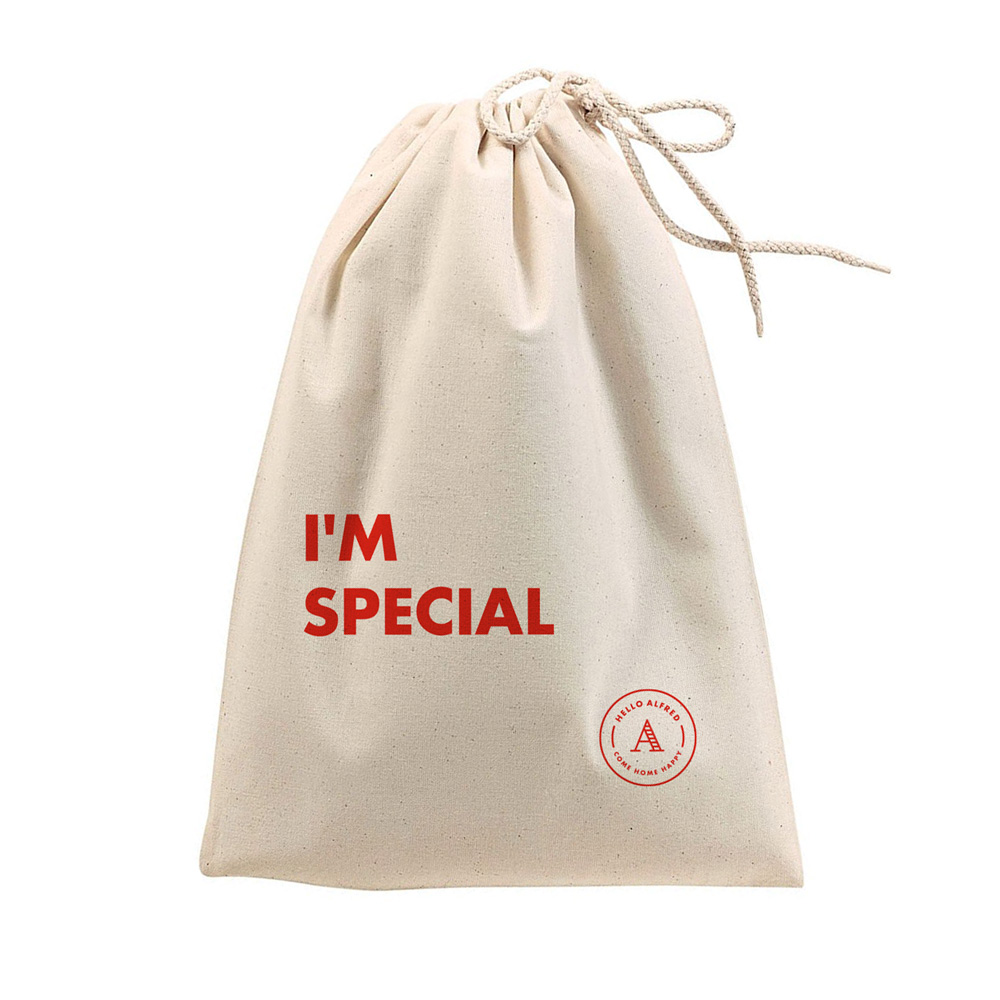 """I'm Special"" Shoe Travel Bag & Care"