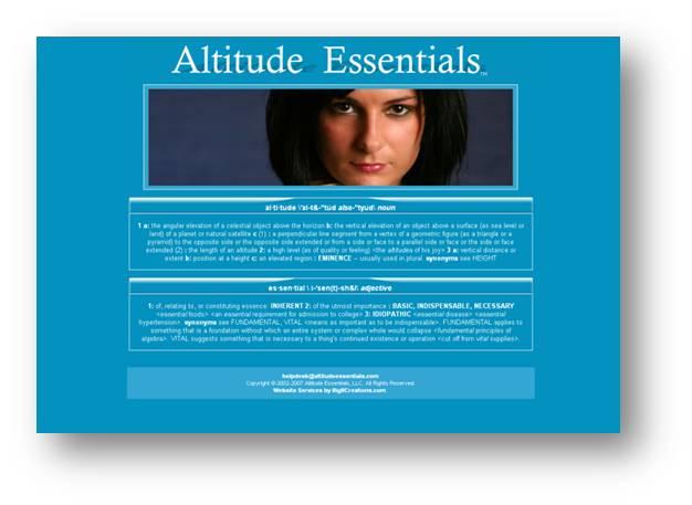 Altitude Essentials -