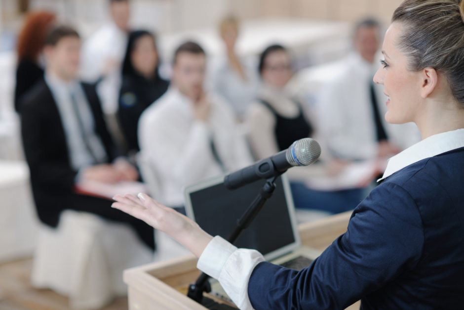 Overcoming The Fear Of Public Speaking   by Dr. Tammy