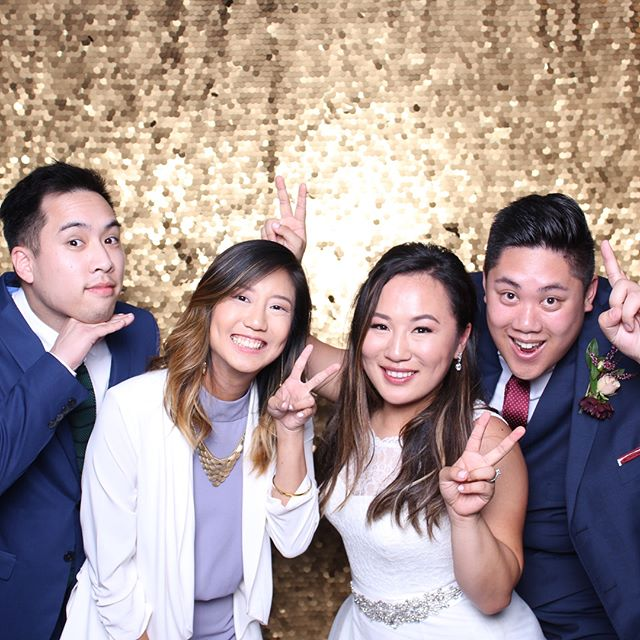 Thank you Crystal & Wilson for sharing your special day with us! We had a blast at your wedding. Congratulations you two! Also, thank you @elisachao for recommending us. #photobooth #dasbooth #aracelycafe #bayarea #treasureisland #crystalxwilson