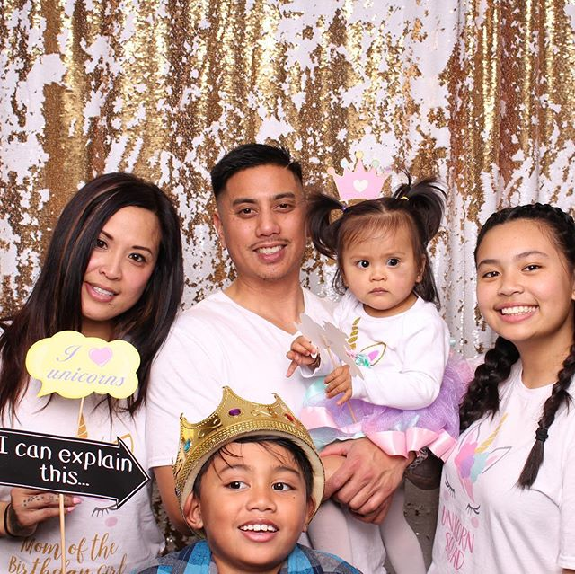 Happy 1st birthday Ava! You are the cutest 🦄! #dasbooth #1stbday #unicorn #photobooth #party #slmcc