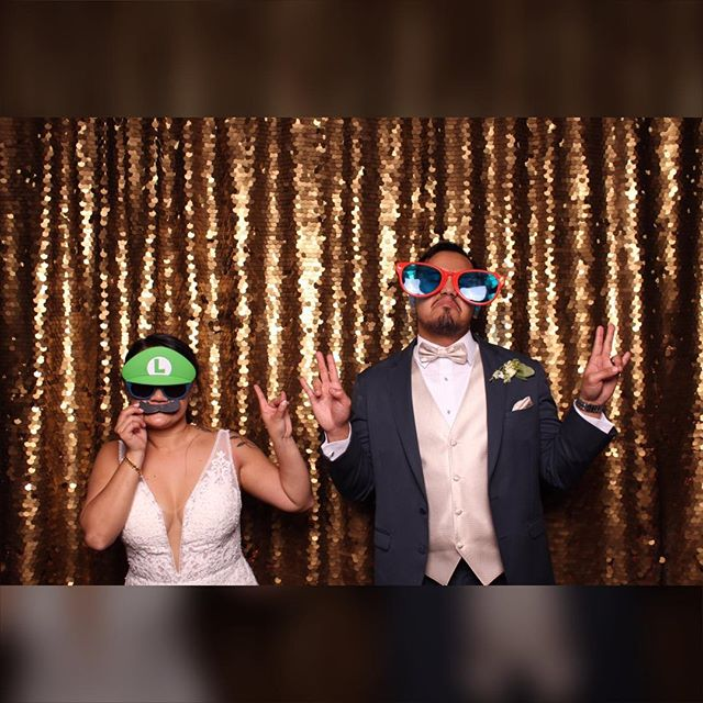 Ain't no party like west coast party! Thanks for having us at your beautiful wedding! #jpbendtheknee #dasbooth #photobooth #weddingphotobooth