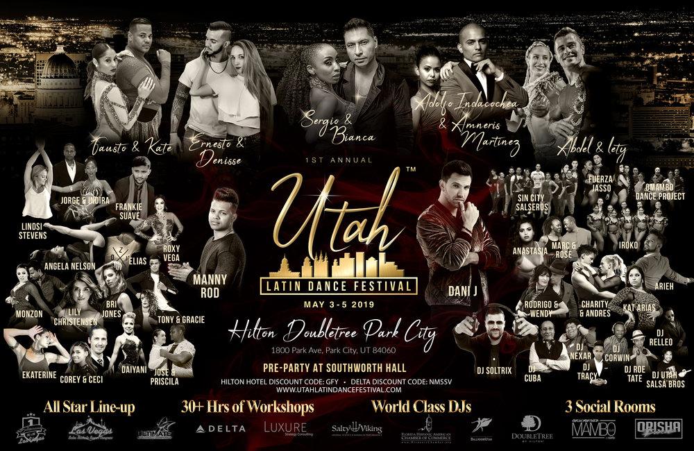 Utah Latin Dance Festival 2019