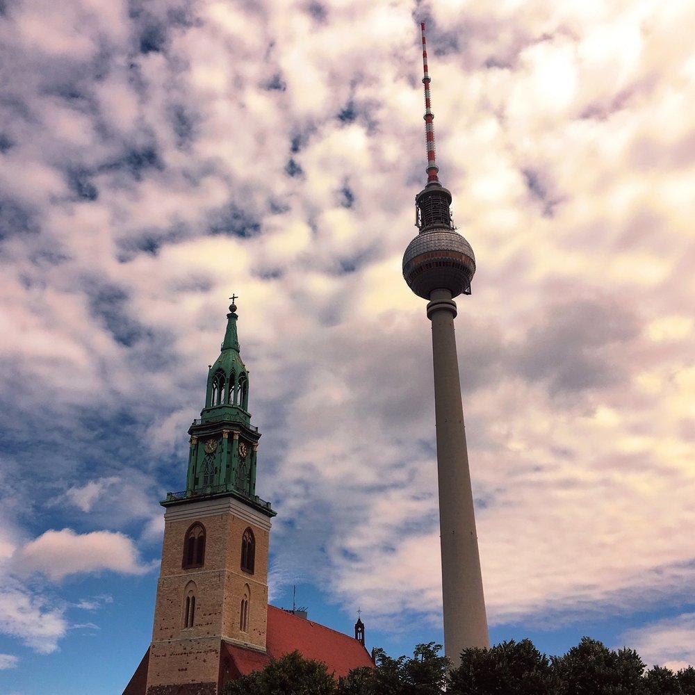Berliner Fernsehturm, Berlin, Germany