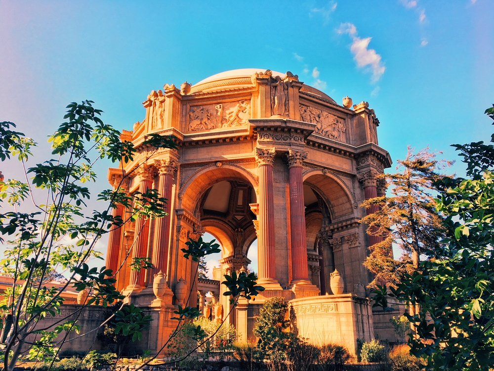San Francisco, CA - Palace of fine arts