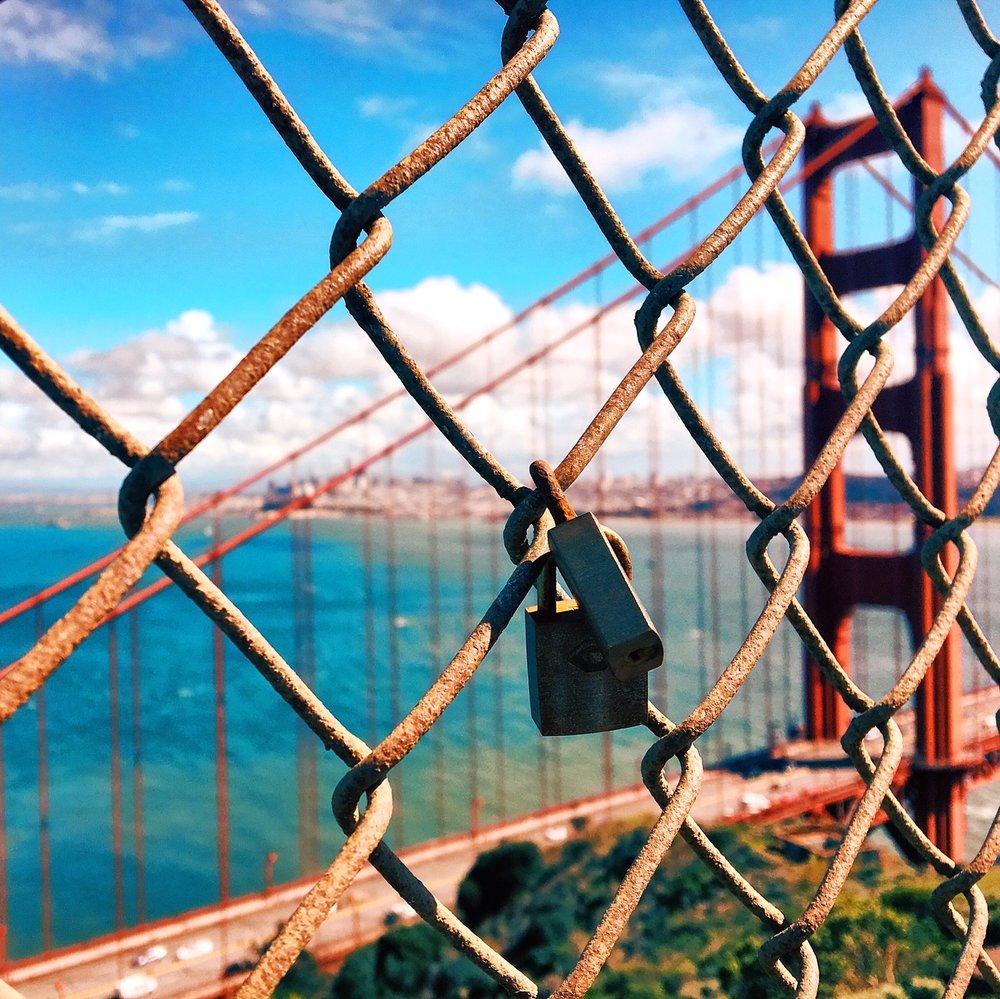 Golden Gate Bridge, North Vista Point, San Francisco, CA