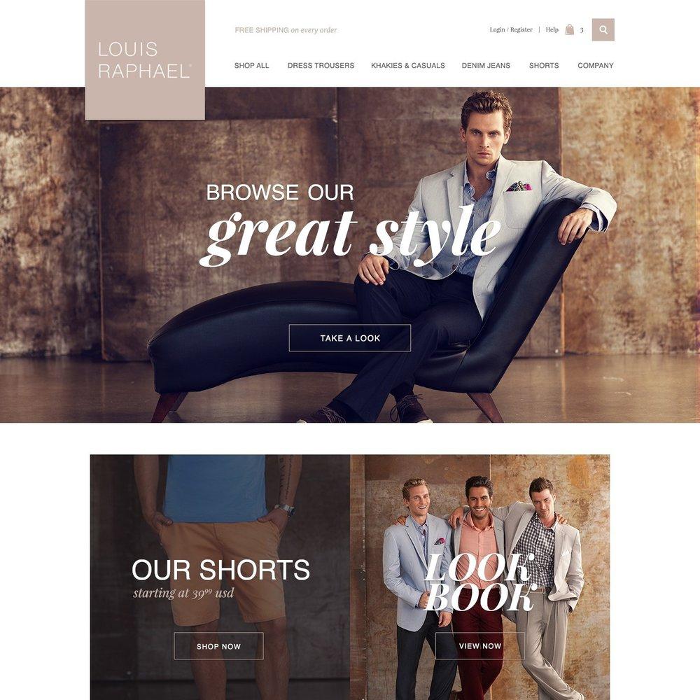 More Web Design - Volusion clients