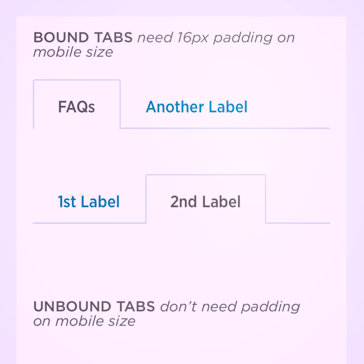 Tabs - Web component