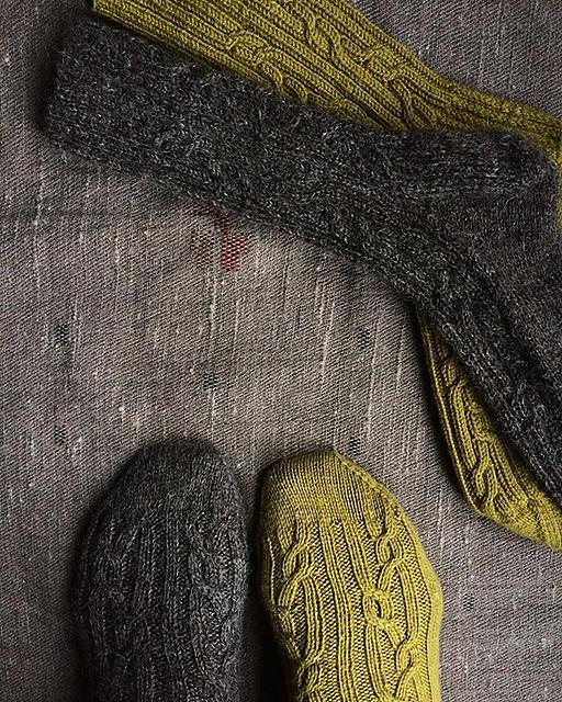 Oxalis Socks by Phoebe O'Neill.jpg