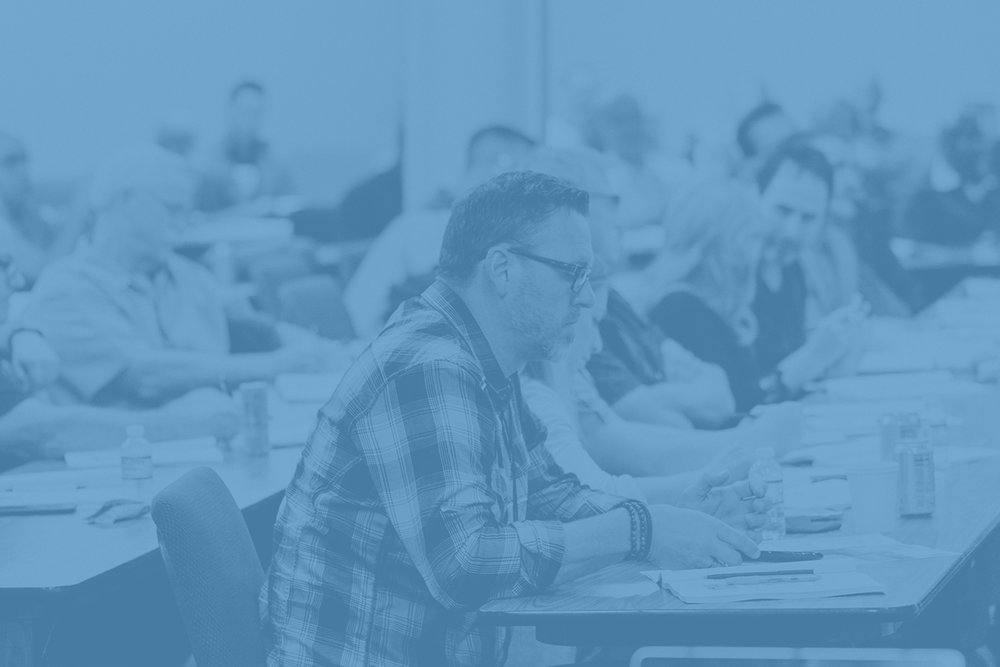 ONE-DAY INTENSIVES - A One-Day event is perfect for a local church setting where all leaders, potential leaders, and people who would benefit from this type of event can easily attend.