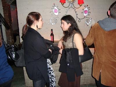 L-R: Selena Shepps, Jessica Lipps