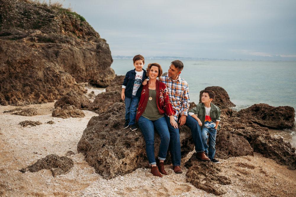 family photography Okinawa Japan