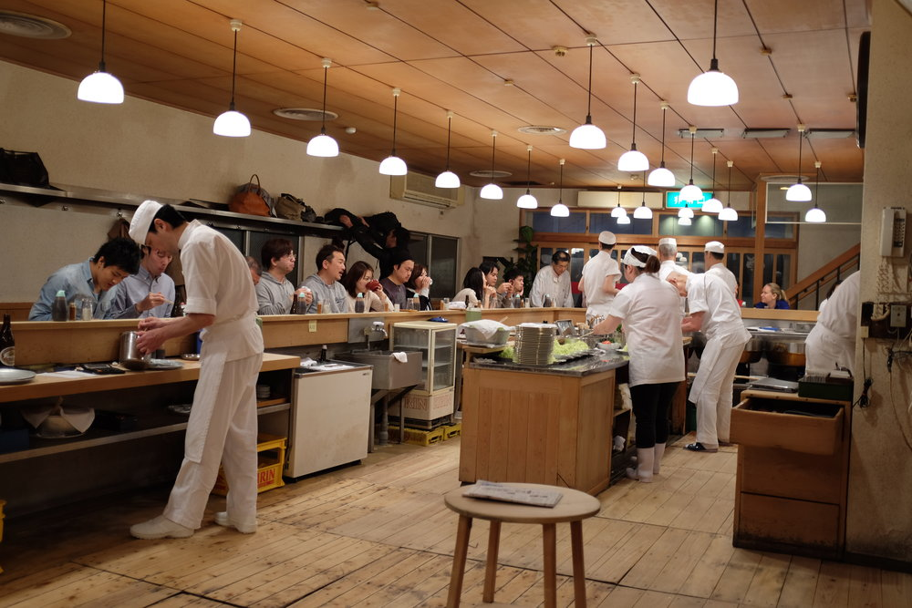 Tonki tonkatsu resturant, Meguro, Toyko