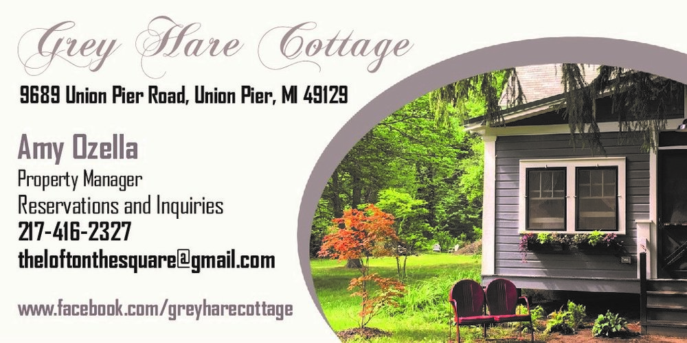 Grey Hare Cottage Union Pier Lake Michigan Vintage Cottage Vacation Rental AirBnB VRBO Summer Family Vacation Southwest Pure Michigan Harbor Country Travel Adventure New Buffalo Three Oaks Beach