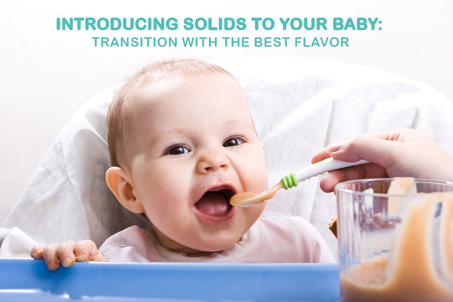 Introducing Solids To Your Baby Transition With The Best Flavors.jpg
