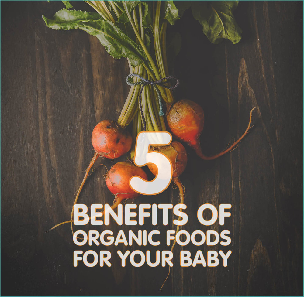 5 Benefits Of Organic Foods For Baby