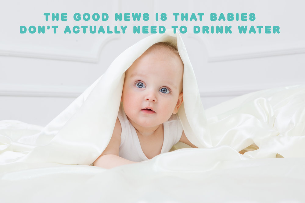 Why You Shouldn't Give Your Baby Water