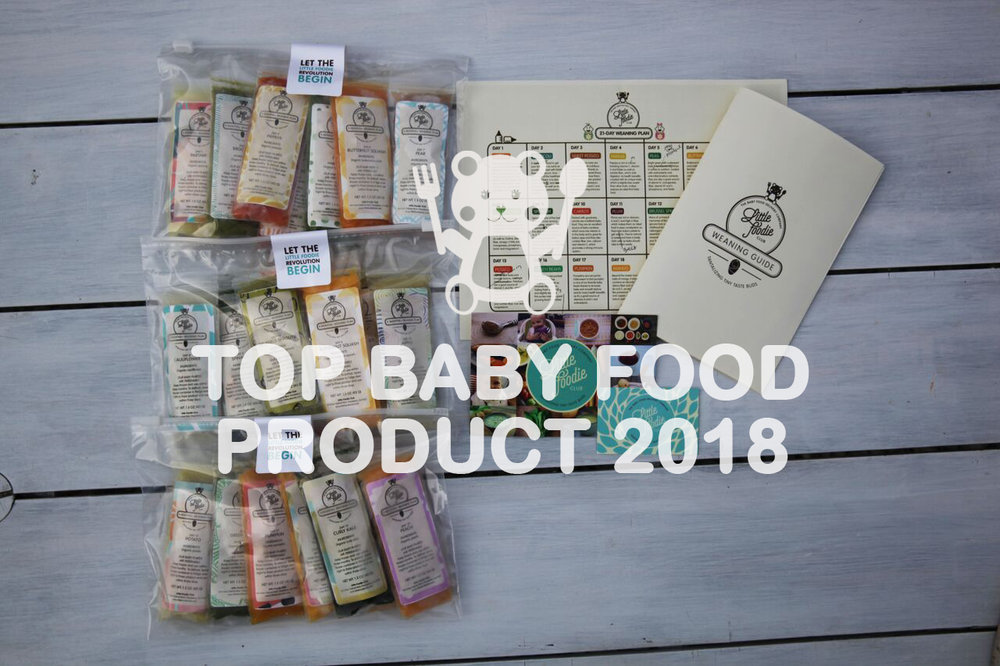 LITTLE FOODIE CLUB NAMED TOP BABY FOOD PRODUCT OF 2018