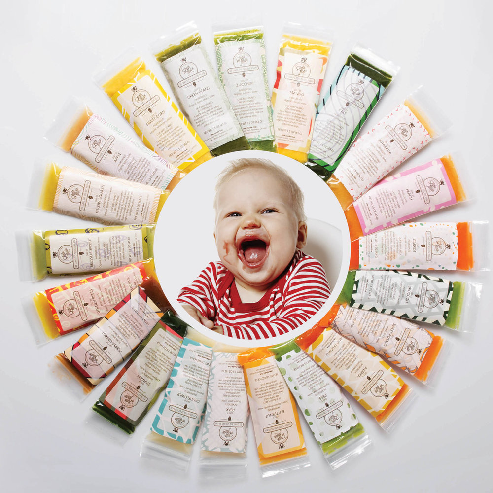 VARIETY:  21 days, 21 organic low allergenic ingredients to keep your baby's palate and senses stimulated throughout the plan