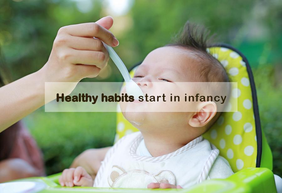 EATING VEGETABLES MAKES BABIES SLEEP BETTER