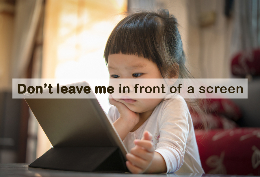 No Passive Screen Time For Babies, Warns WHO