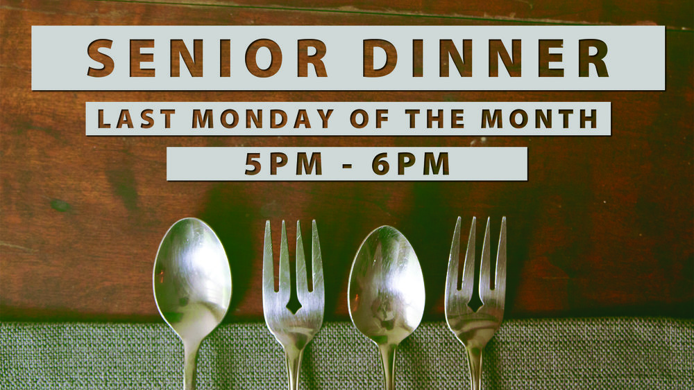Valley's Senior Adult Ministry holds a senior dinner that last Monday of each month. This is a full meal for all Seniors, whether a part of our church or not. Come and enjoy a time of fellowship over great food!