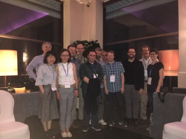 ISP Members in Hanoi, Viet Nam. April 4, 2019. Members from Viet Nam, the US, Czech Republic, Slovakia, Hong Kong, Serbia, New Zealand, the Netherlands, and Germany