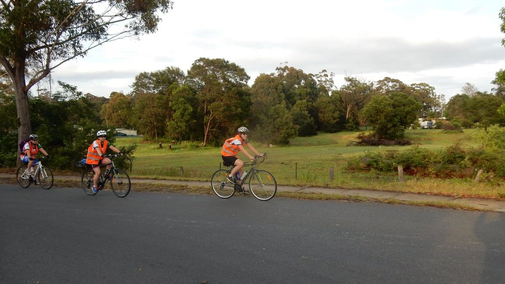 Melbourne to Sydney Charity Bike Ride -