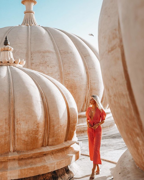 Here is one of her photos from India. It is so simple, but has a lovely composition. Each photo is composed with intention and that's what makes it so enjoyable to follow her on Instagram! Not to mention the editing on all the photos that ties them all together.