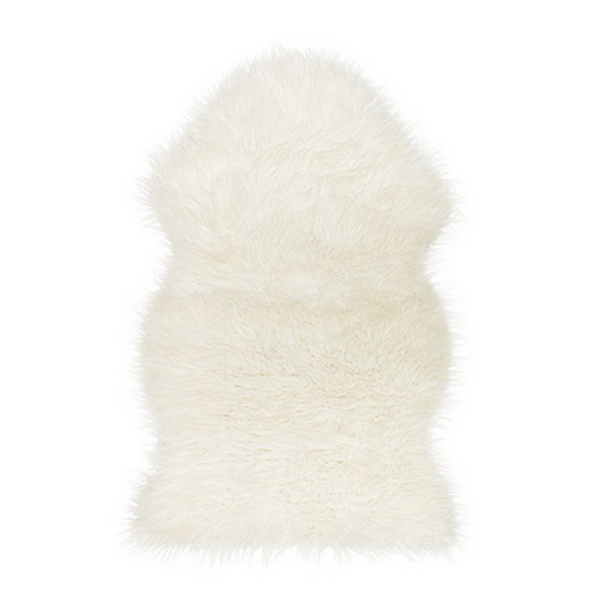 home decor IKEA fur rug Tejn