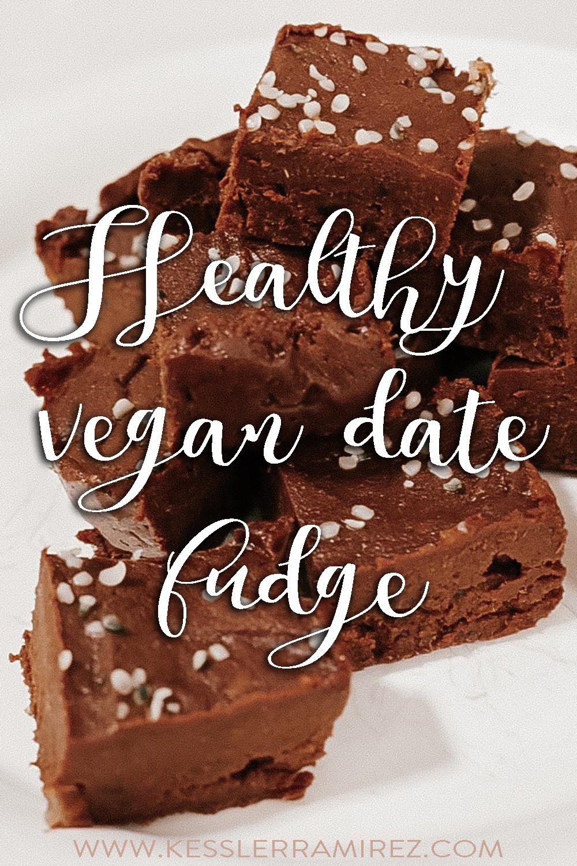 Healthy vegan date fudge – Kessler Ramirez