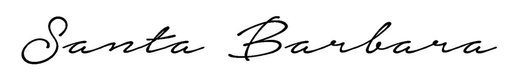 Santa Barbara Script