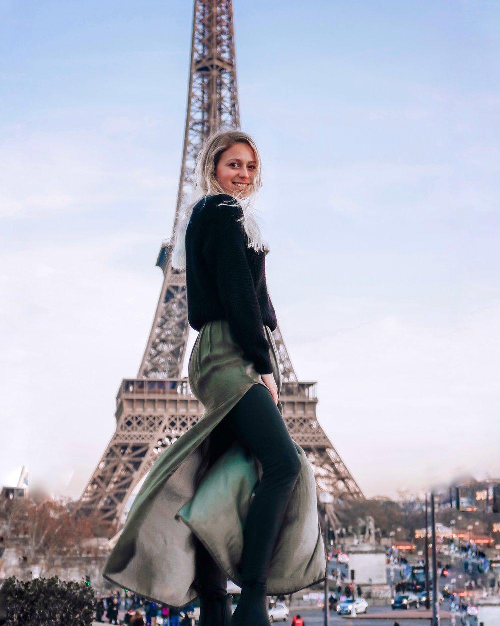 Kessler Ramirez – Eiffel Tower in Paris, France
